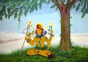 Shiva_Painting_by_Narayani
